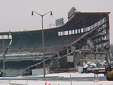 County Stadium Demolition Photos