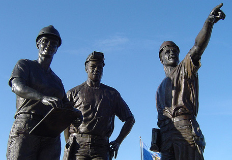 Ironworkers Memorial at Miller Park