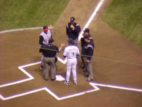 For the First Time, Line-ups Are Exchanged at Miller Park