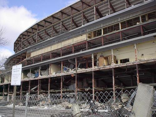 January 2001 (County Stadium Demolition)