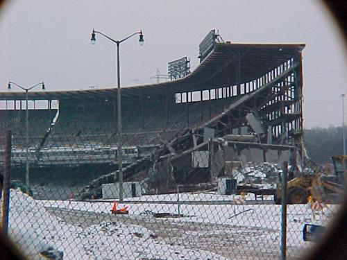 February 2001 (County Stadium Demolition)